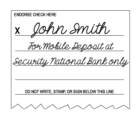 How to Endorse a Check (The Right Way) for Mobile Deposit