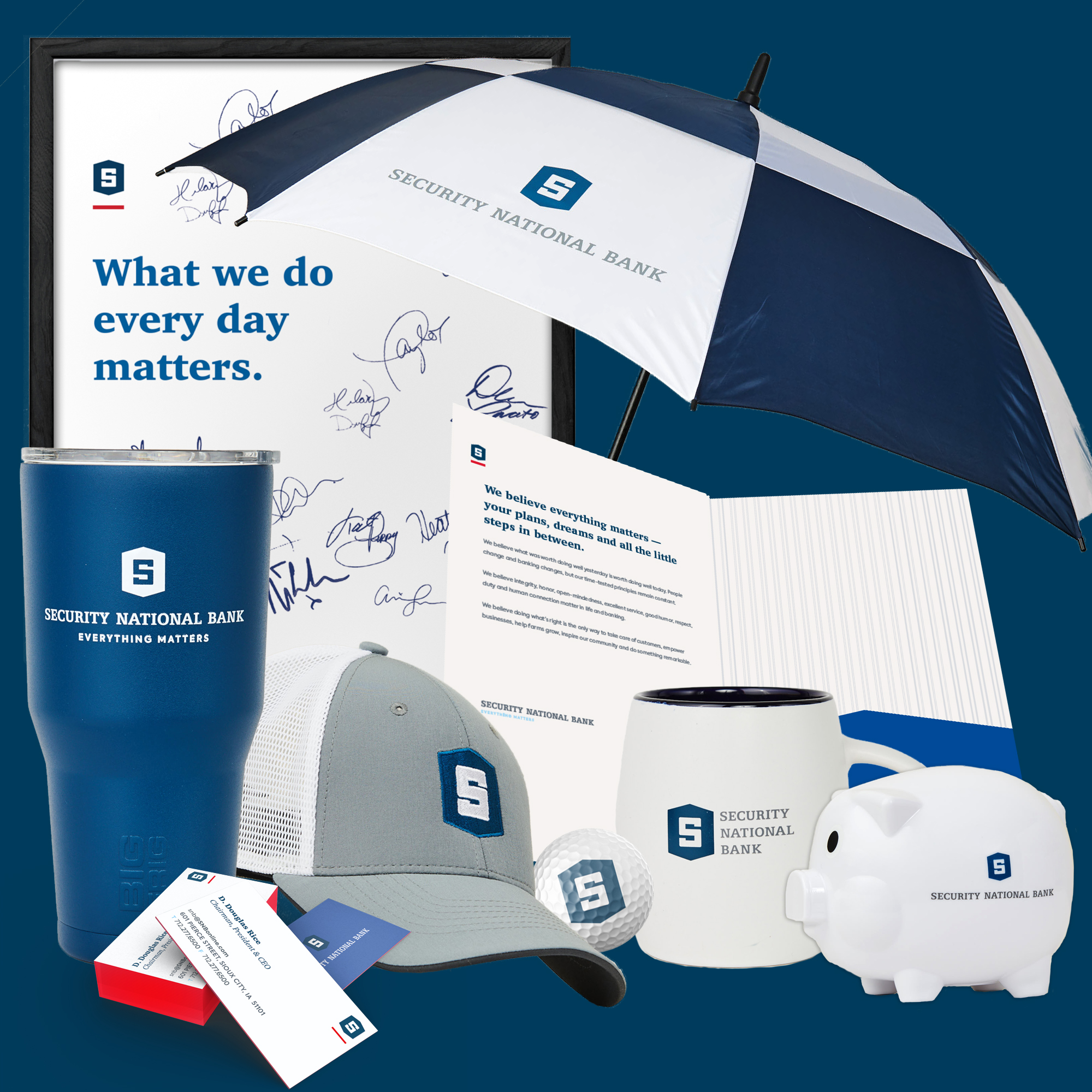 SNB Promotional Items