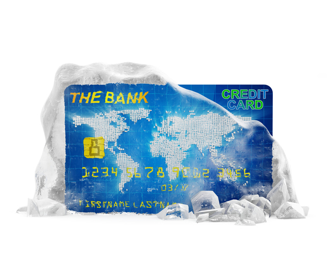 Literally Freeze Your Credit Card