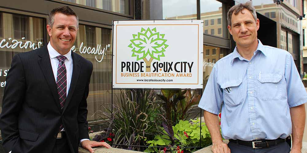 Security National Bank wins Pride of Sioux City Award