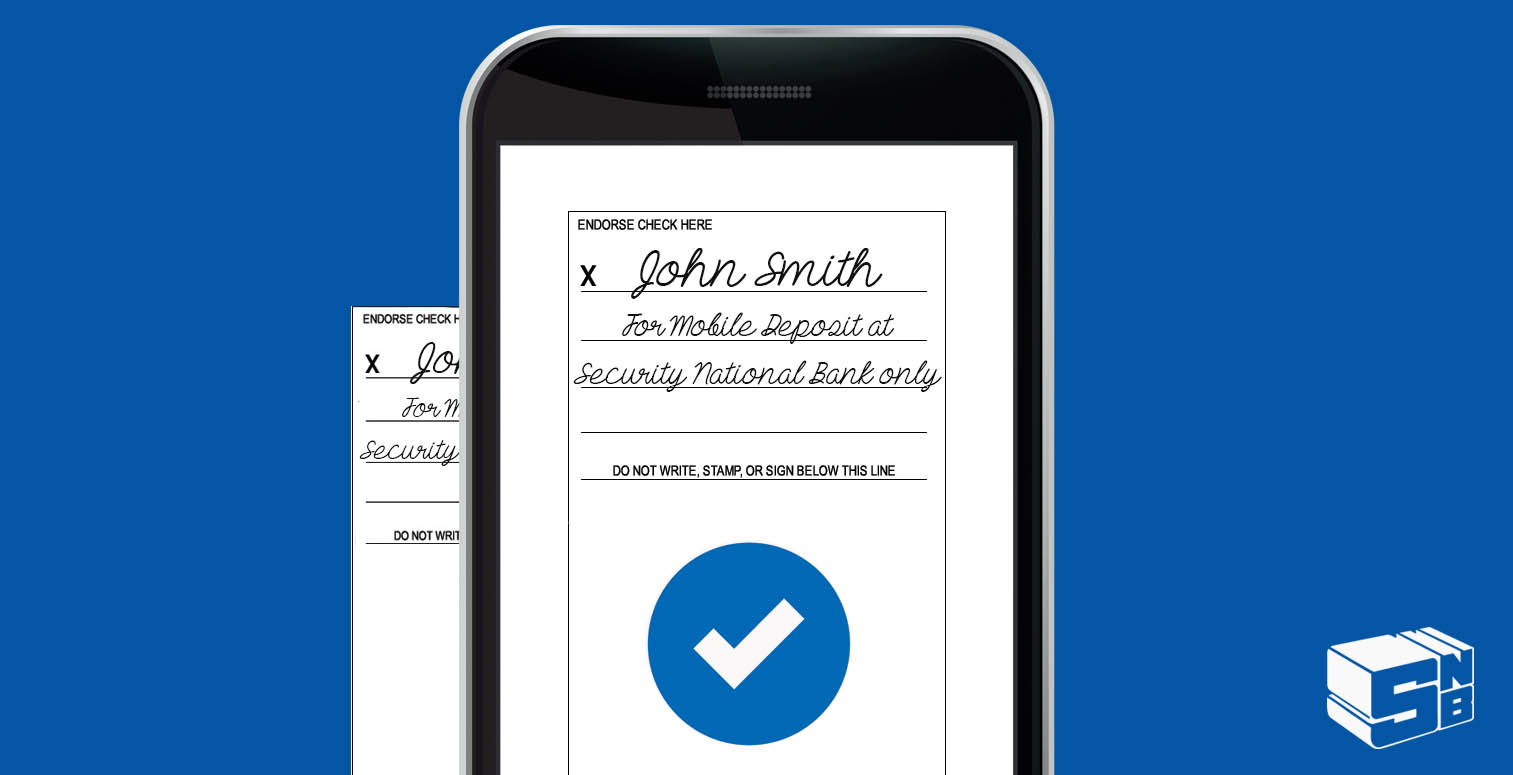 How to Endorse a Check for Mobile Deposit