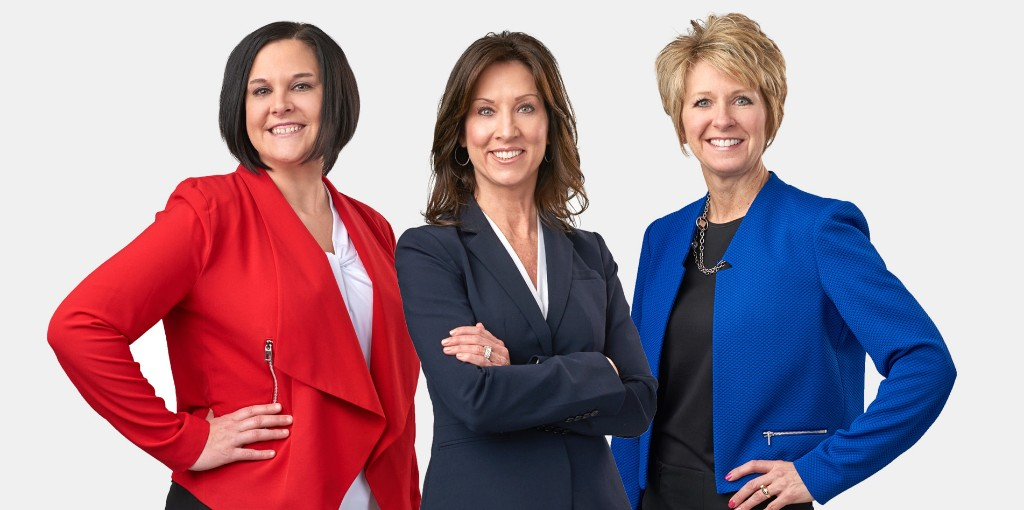SNB Mortgage Professionals Holly June, Julie Schmidt, J
