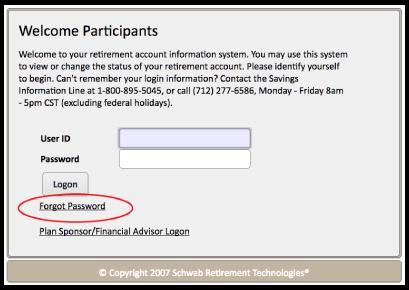 401K Online Sign-In